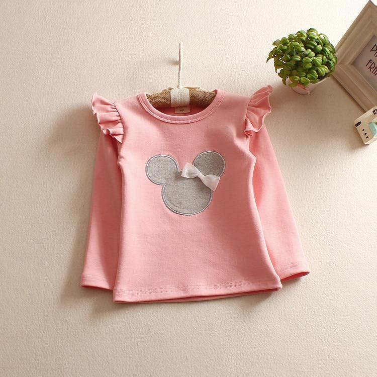 Fashion Style Toddler Қыздар футболка Top Pattern - Балалар киімі - фото 4