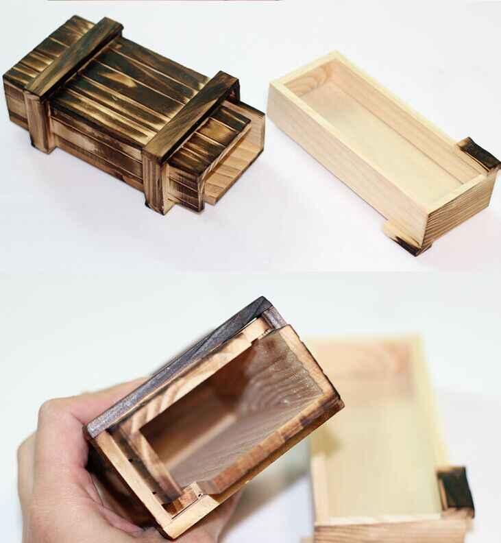 Inteligencia magia rompecabezas de madera secreto caja compartimiento regalo cerebro Teaser nuevo compartimiento de alta calidad regalo cerebro Teaser nuevo