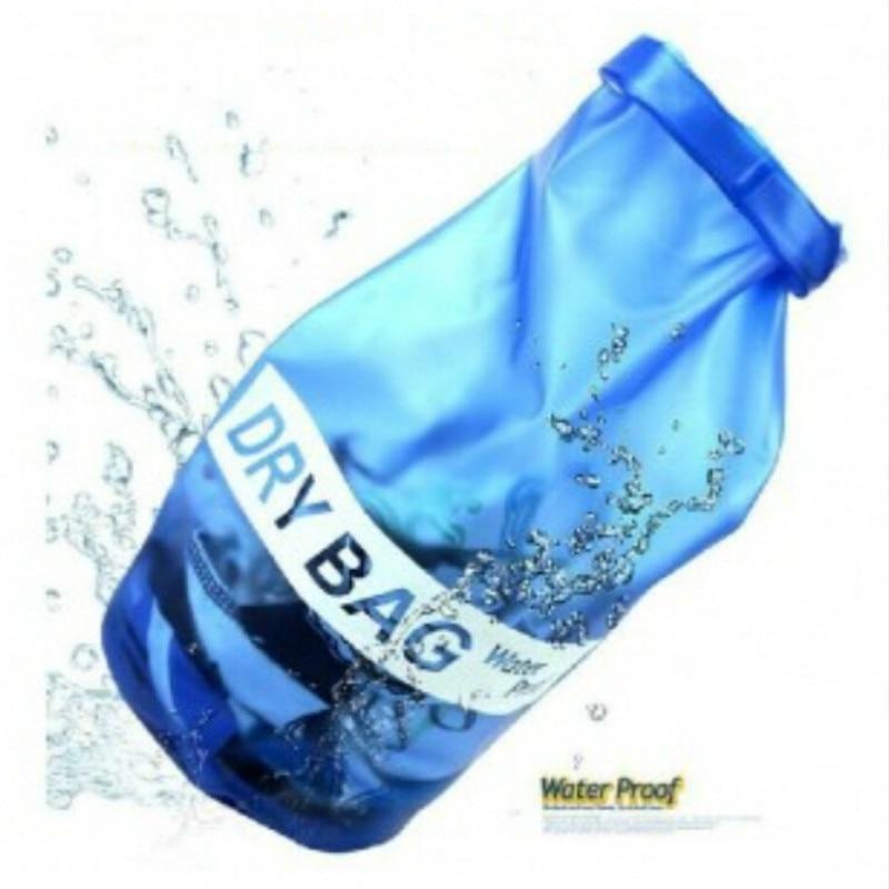 Outdoor PVC Waterproof Dry Sack Clothes Storage Bag Rafting Sports Kayaking Canoeing Swimming Bags Travel Kits Beach Handbag