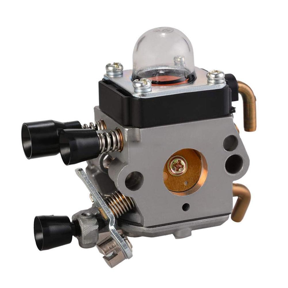 Carburetor Carb STIHL FS38 FS45 FS46 FS55 FS74 FS75 FS76 FS80 FS85 Trimmer carburetor ignition coil spark plug air filter for stihl fs38 fs45 fs46 fs55 km55 brushcutter trimmer