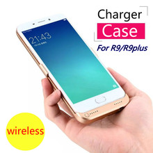 Battery Charger Case For OPPO r9 r9 plus Backup External Battery Power Bank For oppo r9 r9 plus Portable Powerbank Charger Case