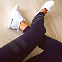 Whimsical 3 Colors Print Sporting Women Long Pants Tracksuit Fitness legging high waist Elastic Gymnasium Workout 3 colors