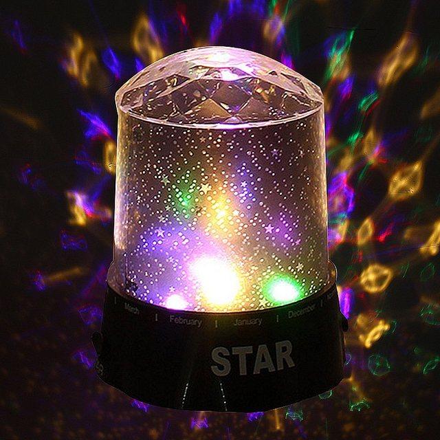 sternenhimmel lampe diamant sterne stimmung led nachtlicht batterie power projektor tischlampen schlafzimmer bar kinderlampe