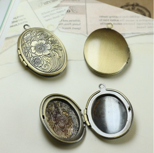 3pcs 23x29mm mid victorian locket antique oval locket pendant 3pcs 23x29mm mid victorian locket antique oval locket pendant no04721 aloadofball Images
