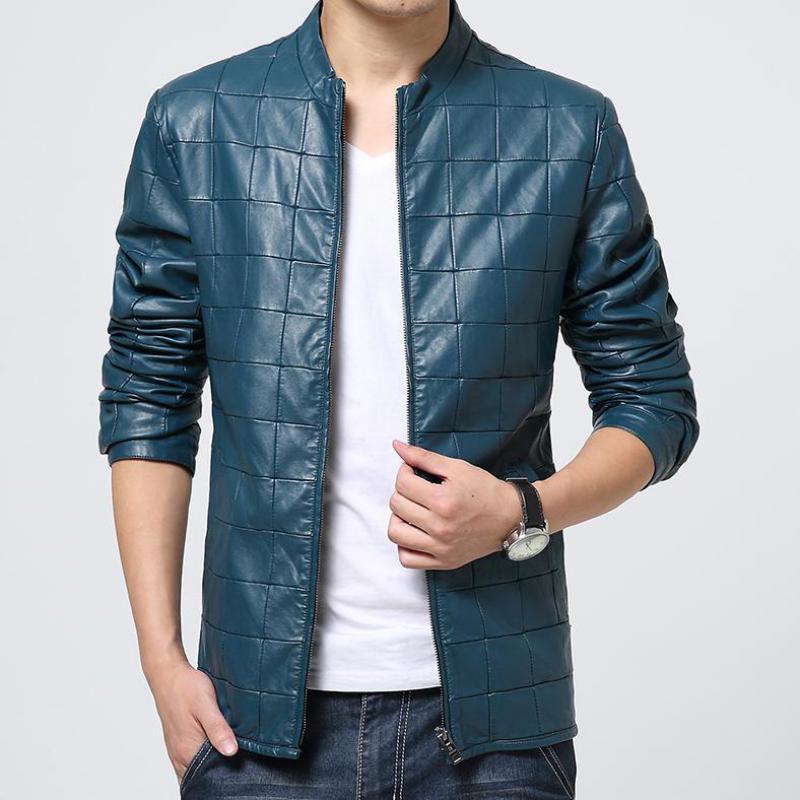 Online Buy Wholesale punk leather jacket men from China punk ...