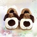 Los Niños Zapatillas de invierno Casa de Niño y Niña de Algodón Zapatos Calientes de Dibujos Animados CHW013