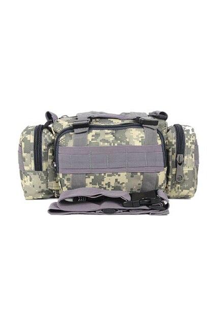 ASDS MenWaist Pack Shoulder Bag Handbag Military  Multi-purpose Bag ACU Camouflage