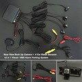 Car Parking Sensors + Rear View Camera = 2 in 1 Visual / BIBI Alarm Parking System For Hyundai ix35 2014~2015