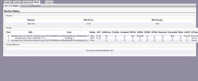 KUANGCHENG ANT MINER R1 LTC miner 1.29M scrypt miner Litecoin mining machine Use an antminer L3 + chip BM1485 ltc MINER 5