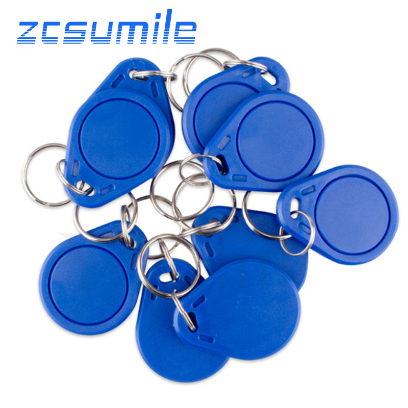 10 Pcs EM4305 125khz ID Keyfob RFID Tag Token Ring Waterproof And Fallproof