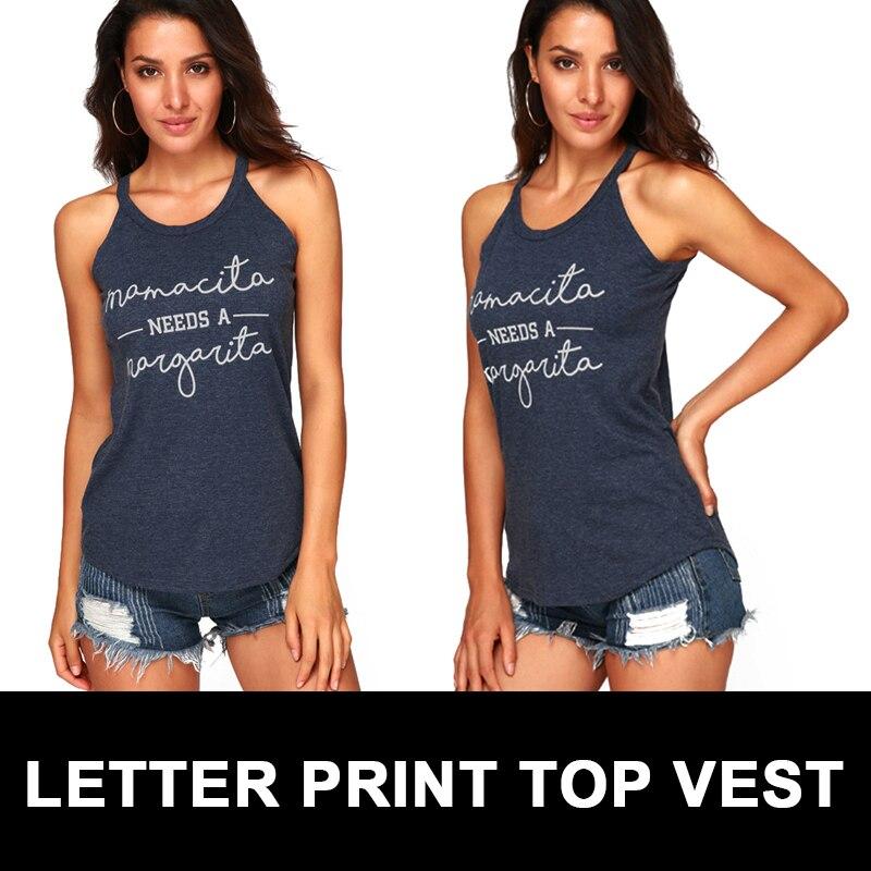 Модные женские летние топы с печатным рисунком, удобные повседневные джинсы, топы без рукавов, свободные, Harajuku, милые футболки, большие размеры