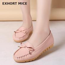 Обувь на плоской подошве; Женская Осенняя обувь без шнуровки; женские лоферы; женские мокасины; zapatos mujer; балетки на плоской подошве; женская обувь;# D31