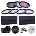 Neewer 58MM Professional Lens Filter UV + CPL+ FLD and Close-up Macro +1 +2 +4 +10  Accessory Kit for CANON EOS 700D 650D 600D