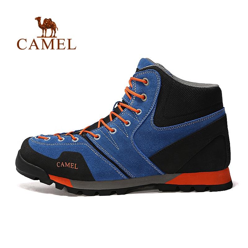 Camel 2016 men's hiking shoes high non-slip durable climbing shoes outdoor sneaker A632036195 yin qi shi man winter outdoor shoes hiking camping trip high top hiking boots cow leather durable female plush warm outdoor boot