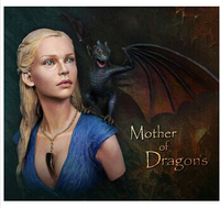 1 10 Scale Models A Song Of Ice And Fire Dragon Resin Bust Model Free Shipping