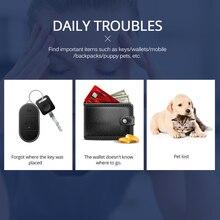 Keyfinder Wallet Dog Cat kids GPS locator anti lost keychain Smart Search Bluetooth Tracker