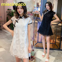 Maternity Clothes Summer Dress Women Party Chinese Style Pregnant Women Maternity Lace Dress Maternity Gown Voile