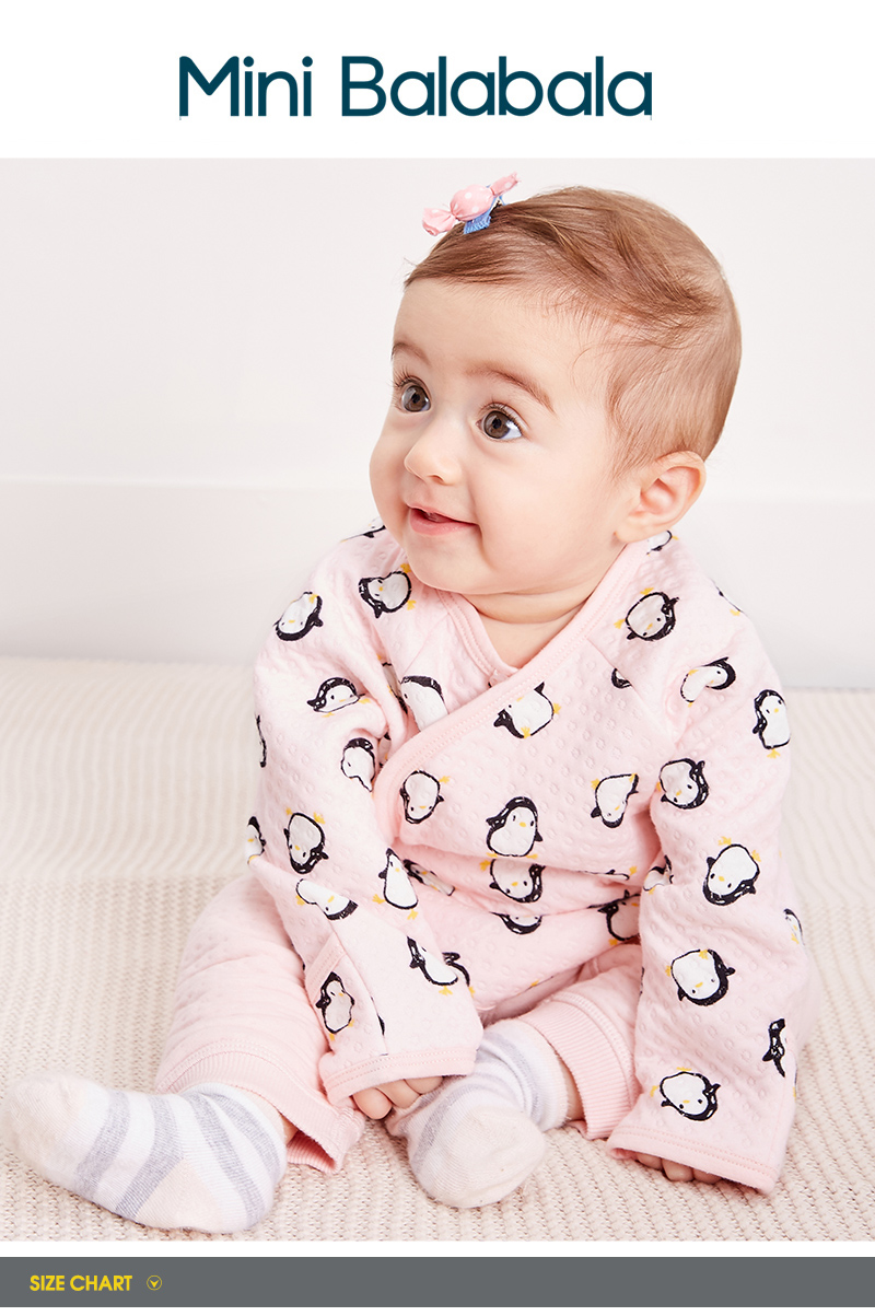 Infant Newborn Baby Girls Kimono Long Sleeve Romper Bodysuit Outfits Clothes fz