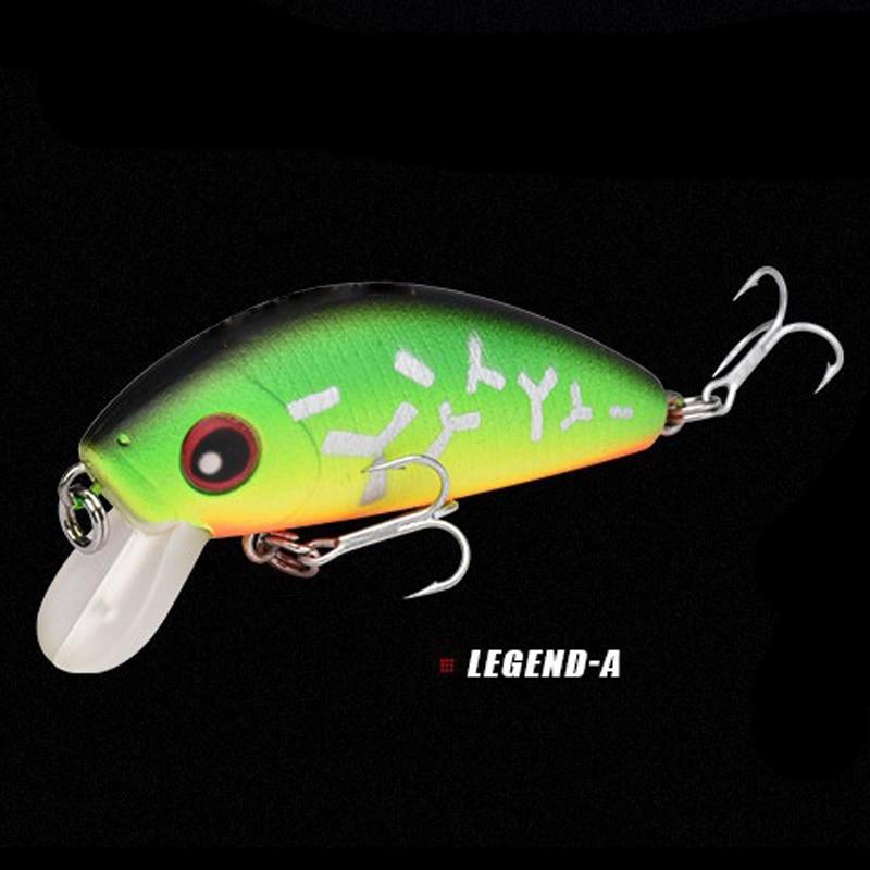 Image 3 - 1pcs 4.5cm 4.1g mini Minnow Hard Bait Fishing Bait Aritificial  Japan Hard bait Bait Trout bass carp fishing-in Fishing Lures from Sports & Entertainment