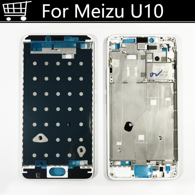 New Housing Front Middle Frame Bezel/ Middle Plate Cover For MEIZU Meilan U10 U 10 Free Shipping