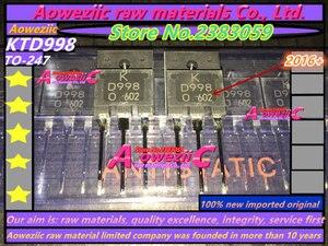 Image 4 - Aoweziic 100% nieuwe geïmporteerde originele KTB778 KTD998 TO 3PF audio eindversterker B778 D998 power transistor 2SB778 2SD998