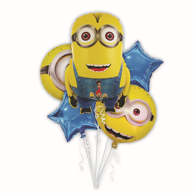Despicable Me Minions Inspired Foil Balloons