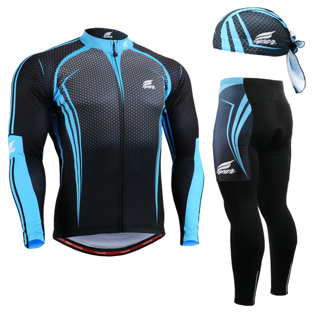 ФОТО Life on Track Men MTB Road Bike Bicycle Winter Warm Long Sleeve Jacket Sets Suit Cycling Riding Windproof Breathable Clothing