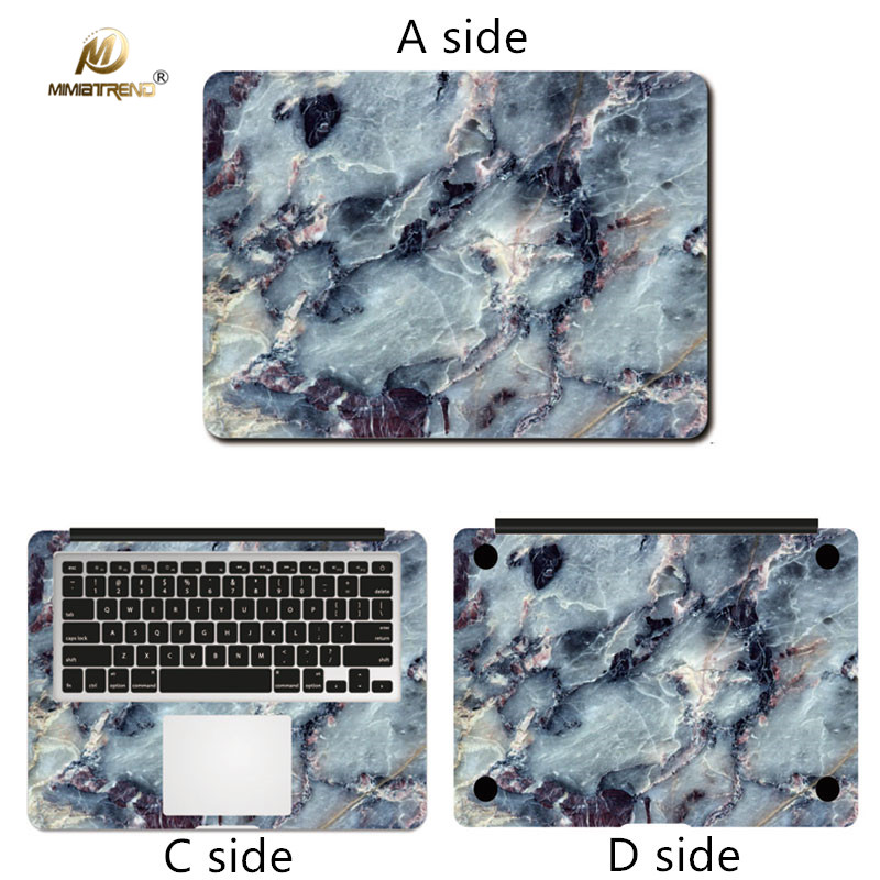 Mimiatrend Marble Vinyl Vinyl Skin Skin voor Apple Macbook Air Pro - Notebook accessoires - Foto 4