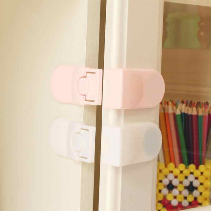Baby Safety Locks Cabinet Drawer Wardrobe Lock Children Kids Security Protector Locks Table Corner Door Fridge Safety Guards