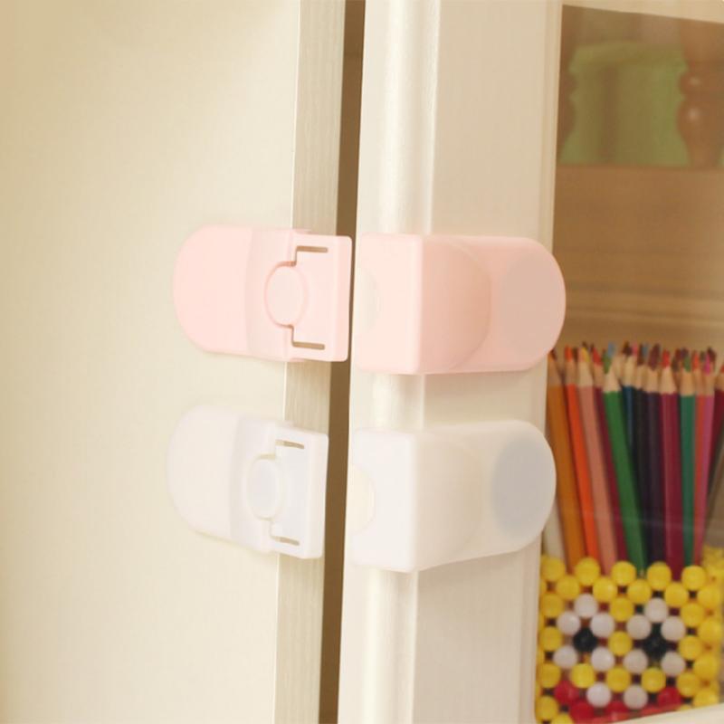 Baby Safety Locks Cabinet Drawer Wardrobe Lock Children Kids Security Protector Locks Table Corner Door Fridge Safety Guards