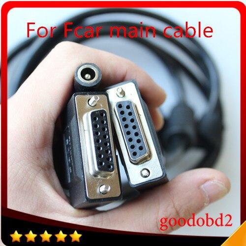Pour FCAR Câble Principal F3-A F3-W F3-S Réparation Outil Auto Obd ii voiture Câbles Obd2 Adaptateur 12 v OBD-II Fil OBD 2 Câble de diagnostic