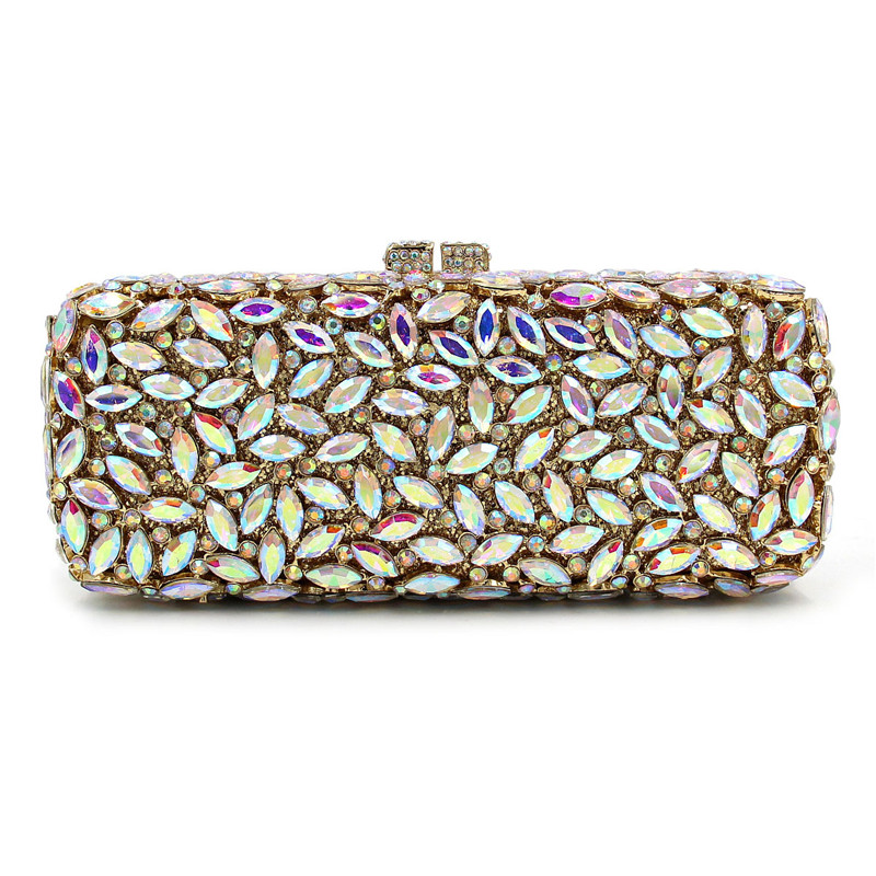 Luxury Chain Clutches Hasp Clutch Bag Wedding Party Bride Handbag Full Diamonds Wallet Handbags For Iphone 7 luxury real new arrival day clutches diamonds flower women bag banquet crystal handbag wedding party handbags night clubs purse