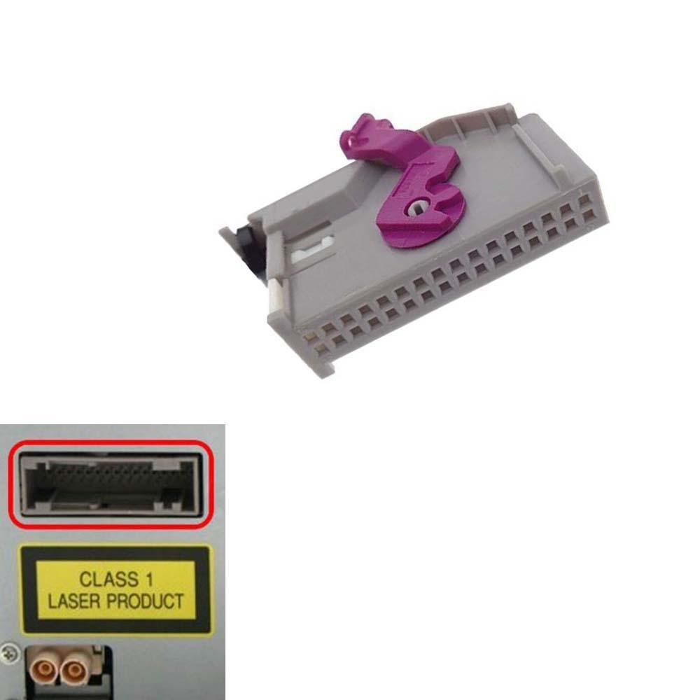 Adaptador aux 3.5mm Jack RNS-E AUX-IN adaptador para Audi rnse MP3 ...