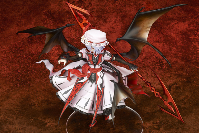 22cm Touhou Project Remilia Scarlet Anime Action Figure PVC Collection Model toys brinquedos for christmas gift