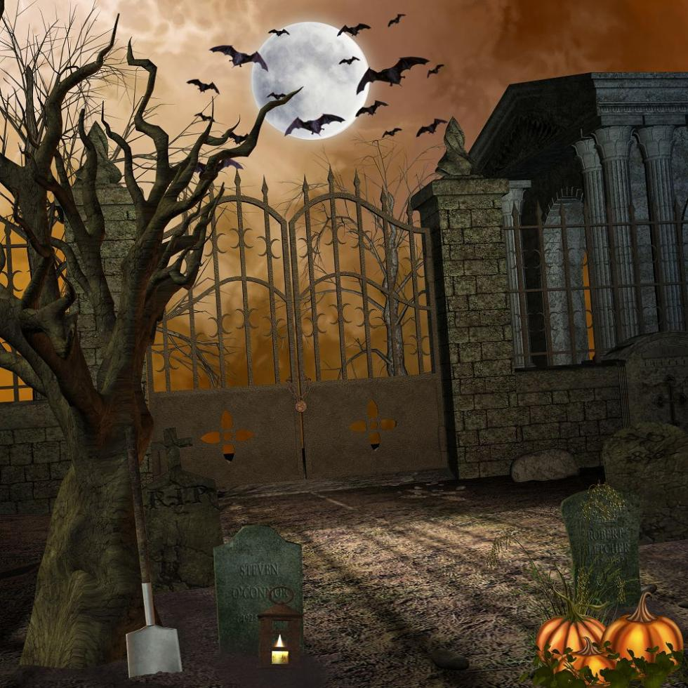 kate hollween photography background 5x7ft full moon night bat cemetery halloween backdrop backdrop photography wsj 028 in background from consumer