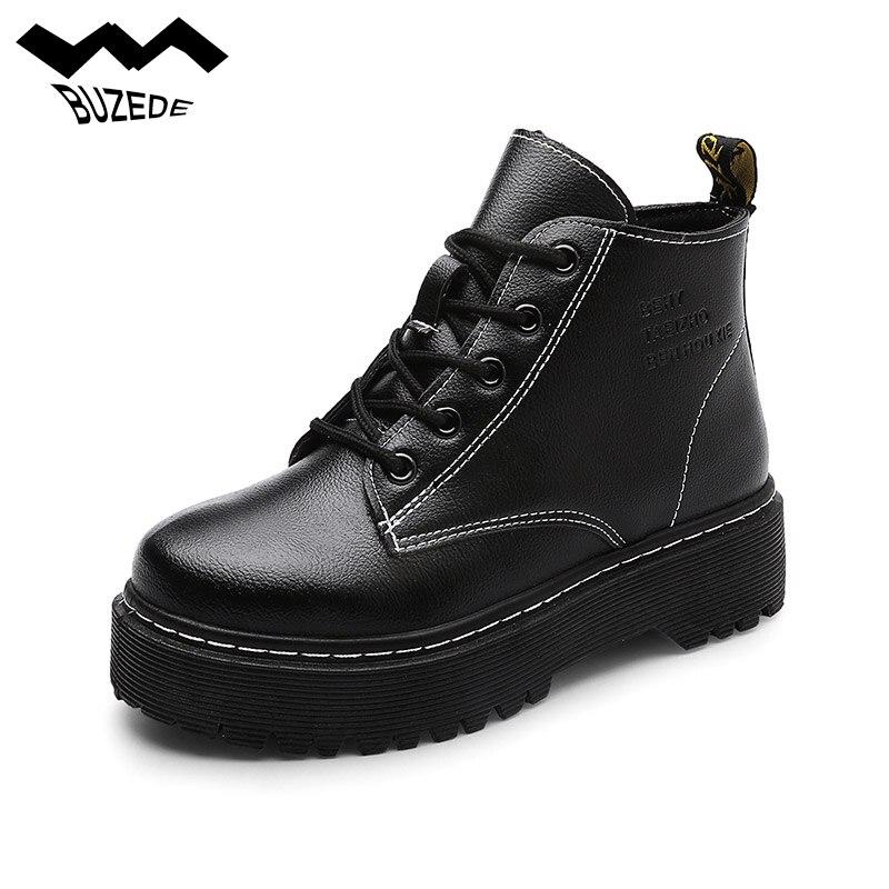 Zapatos de mujer de moda Martin botas botines nieve