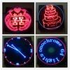64 Lamp Rotary LED POV Advertising Lamp DIY Kit Creative LED Electronic Production Electronic Suite