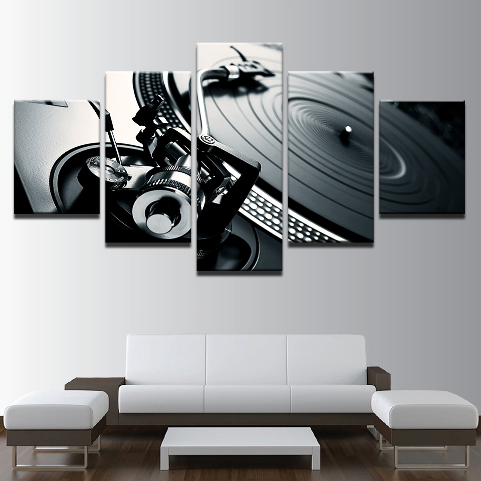Canvas Photo Style Modular Wall Art Pictures Home Decor 5