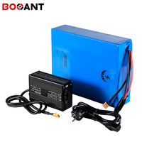 14S 52v 60ah 50ah 40ah electric scooter battery for Samsung INR18650-25R 51.8v 1500w 2500w electric bike battery with 70A BMS