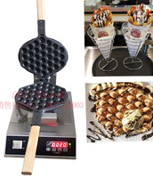 Superior Design 220V Egg Waffle Puff Machine Digital Display