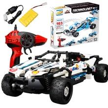 DIY Building Block высокое Скорость RC автомобиль внедорожник деформации автомобиля раннего обучения Развивающие игрушки для детей