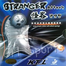 KTL Stranger Attack Long Pips-out Table Tennis PingPong Rubber With Sponge(China)