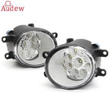 2 шт. Круглый Передние противотуманные свет лампы для Toyota Corolla/Camry/Yaris/Vios/RAV4