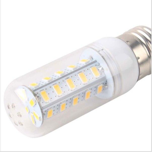 2016 Newest 5730SMD Chip E27 Led Corn Bulb Lamp 110V 220V Lampada de led Refletor White/Warm White Bombillas Led Foco led Light