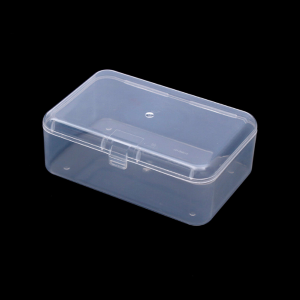 Stationary Boxes Us 84 7 Off Transparent Plastic Storage Stationery Holders Box Clear Square Multipurpose Display Case Plastic Jewelry Storage Boxes In Stationery