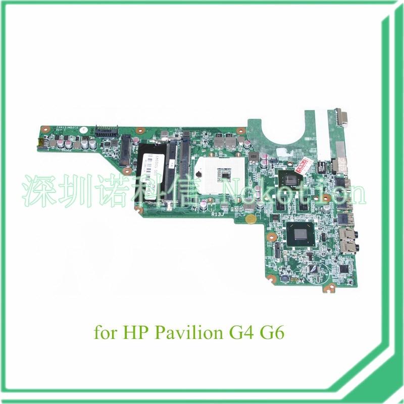 DAR13JMB6C0 REV C 681045-001 For hp pavilion G4 G6 laptop motherboard HM65 graphics  new 649948 001 da0r23mb6d1 da0r23mb6d0 rev d suitable for hp pavilion g7 g6 g4 1000 serise motherboard socket fs1 ddr3