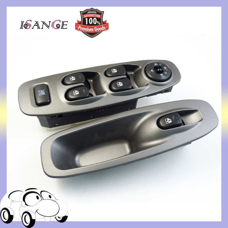 ISANCE Master Front Left Front Right 2pcs Door Power Window Switch Control Fit Hyundai Accent 2000