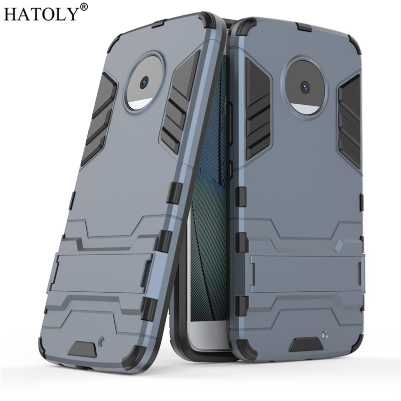 sFor Case Motorola Moto X4 Cover Robot Armor Slim Hard Back Rubber Phone Case for Motorola Moto X4 Cover For Motorola X4 HATOLY