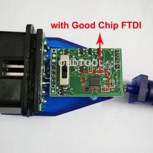 Image 2 - Câble de Diagnostic de voiture avec Interface USB 16 broches, FT232RL FTDI Chip VAG, outil de balayage Ecu, commutateur 4 voies, Obd2