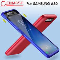 Funda para Samsung Galaxy A80 funda trasera de protección completa de 360 grados para Samsung A80 funda dura Ultra delgada a prueba de golpes